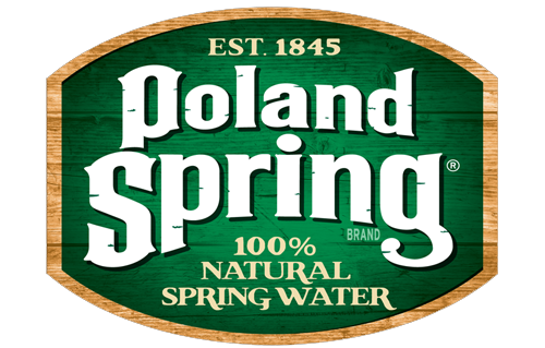 100% Natural Spring Water  - Poland Spring Brand
